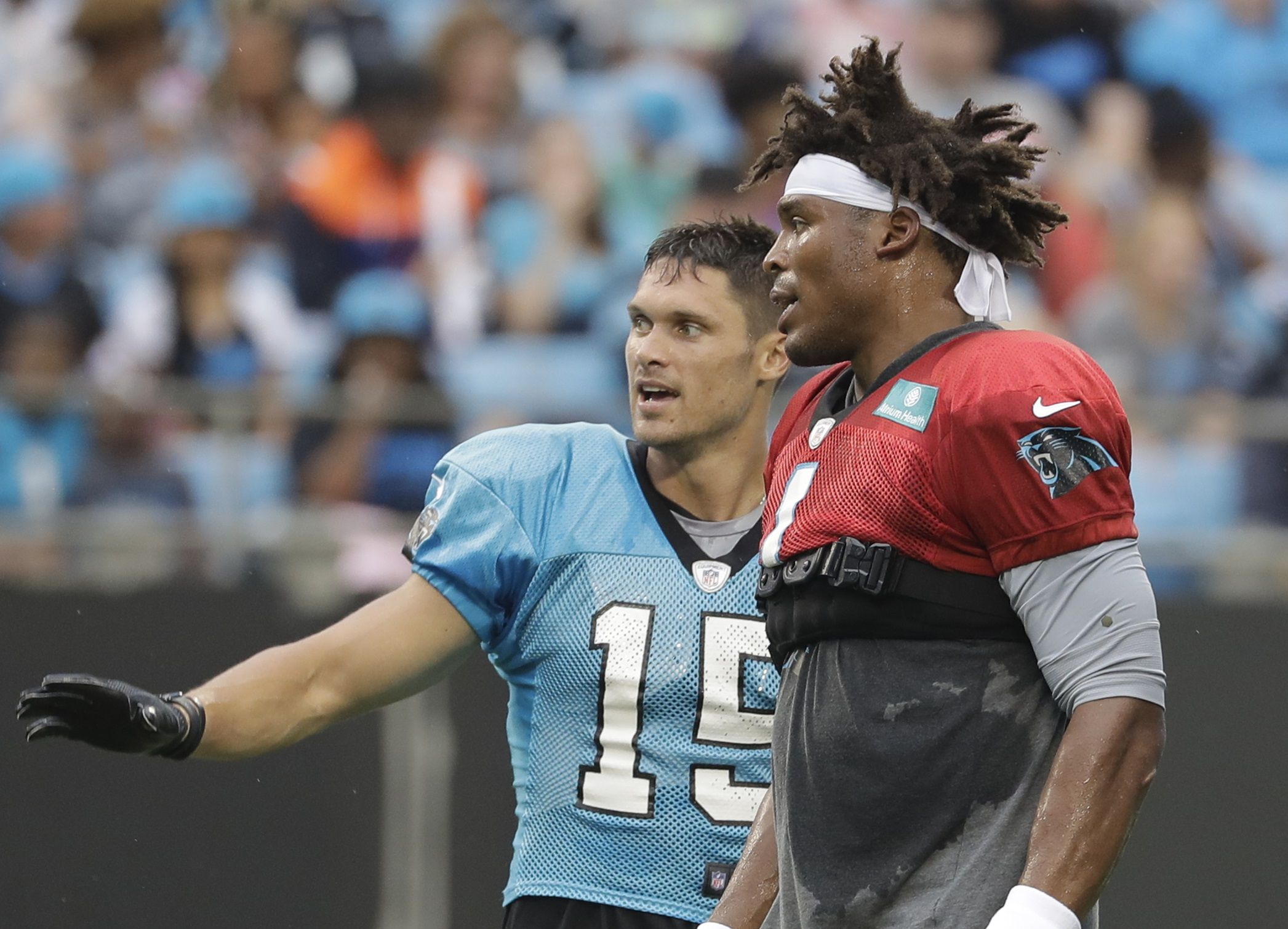 Cam Newton rumors: WR Chris Hogan played role in Patriots signing ...