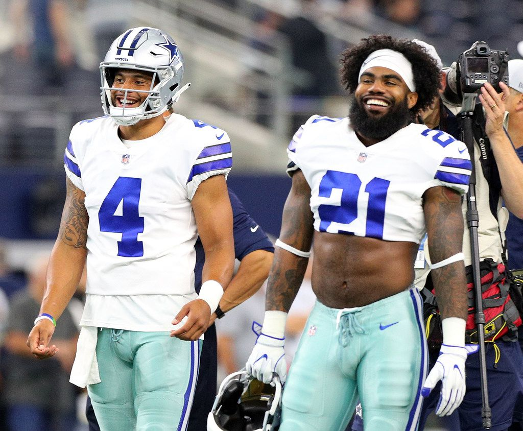 Inside Dak Prescott And Ezekiel Elliott S 214 Connection And How The Cowboys Stars Have Grown On And Off The Field