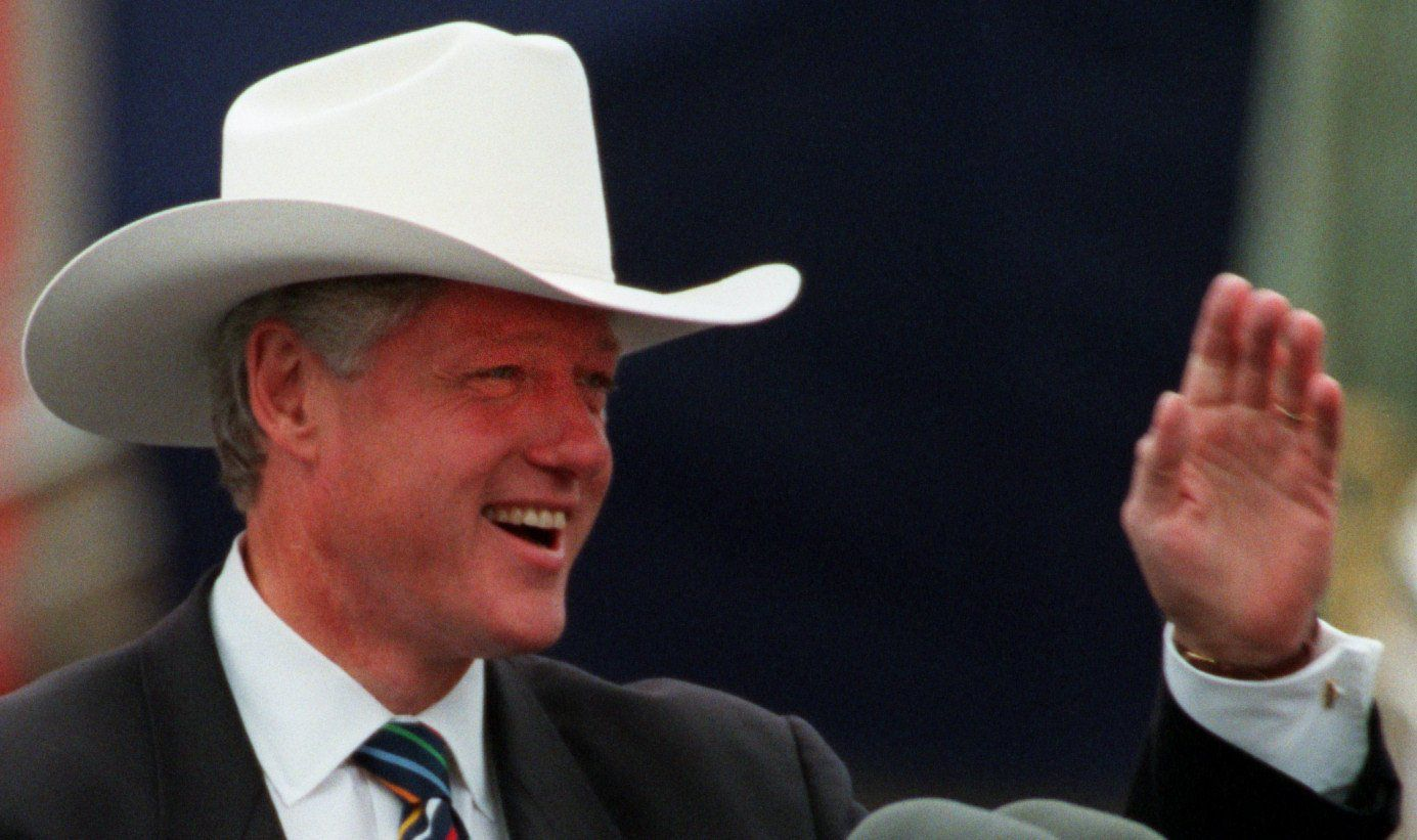 Who wore it best? Cowboy hat photo ops are a presidential