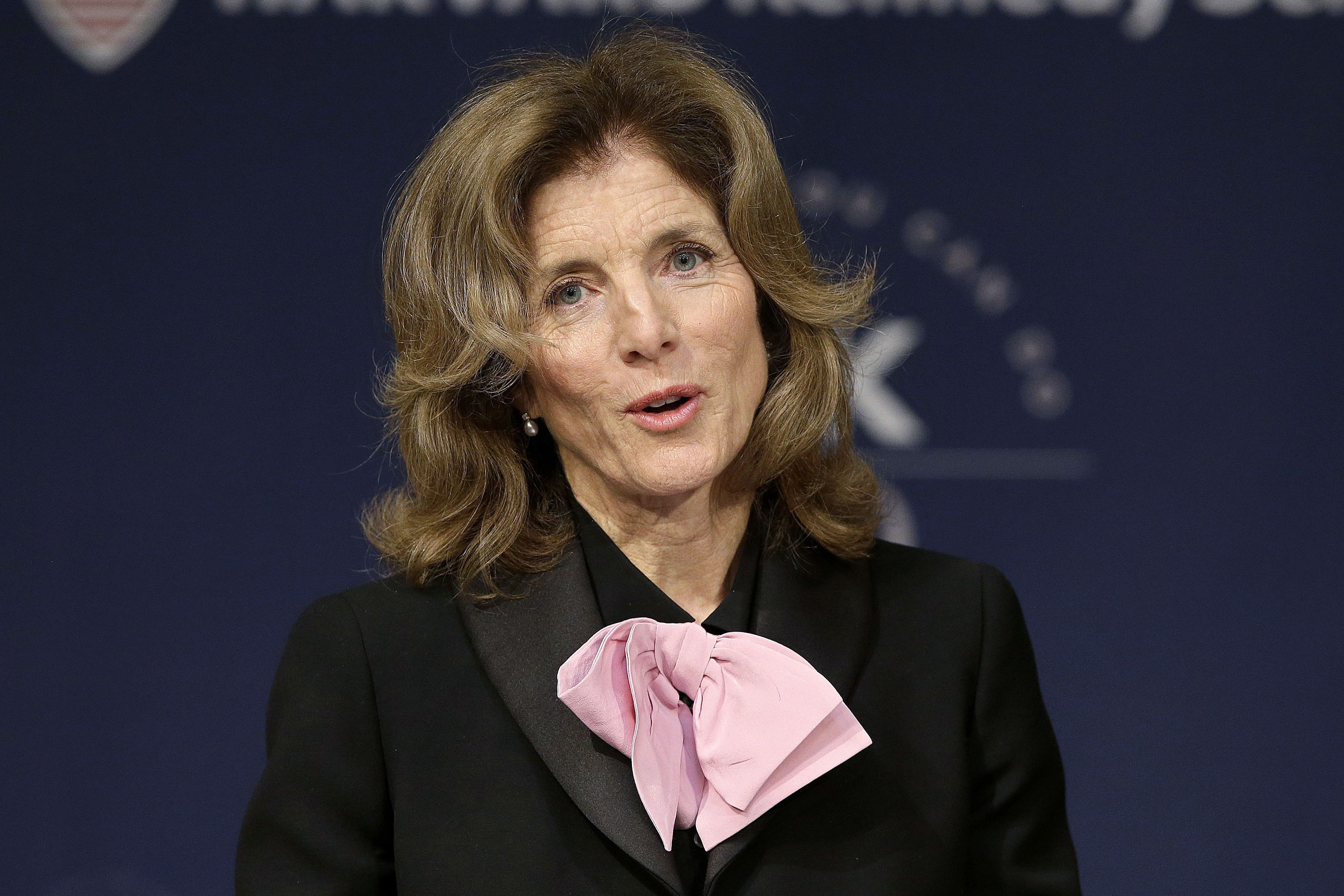 Caroline Kennedy Resigns From Harvard School Named For Her Father