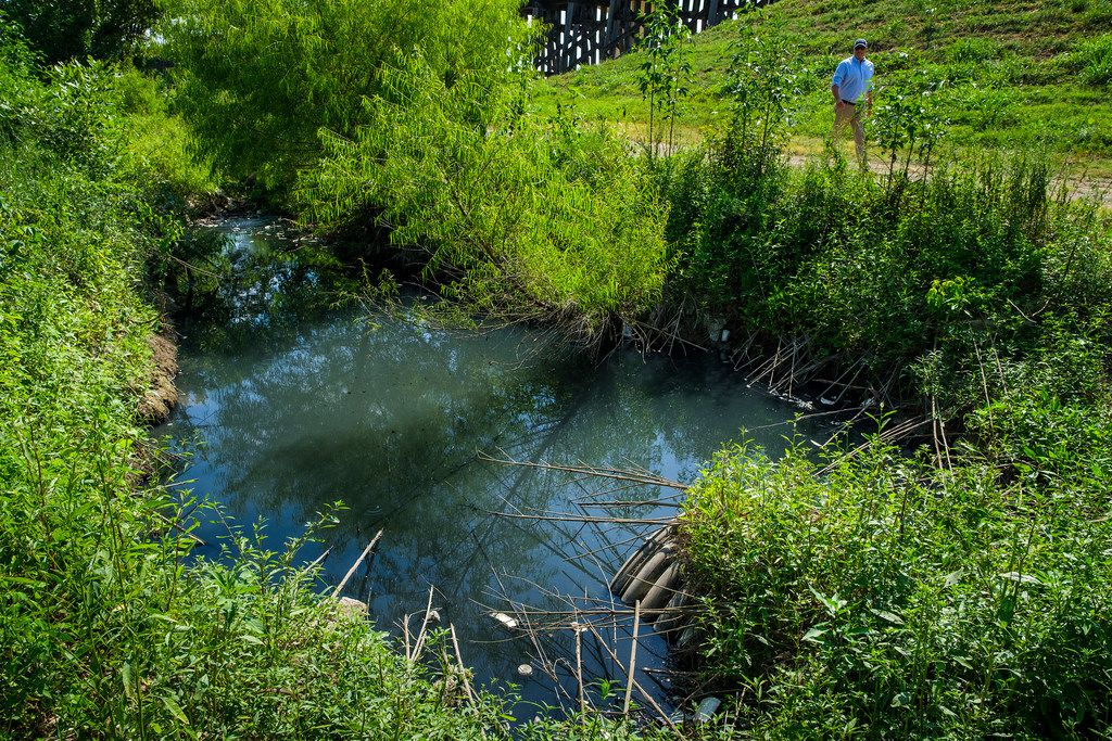Dallas water and environmental officials investigating murky
