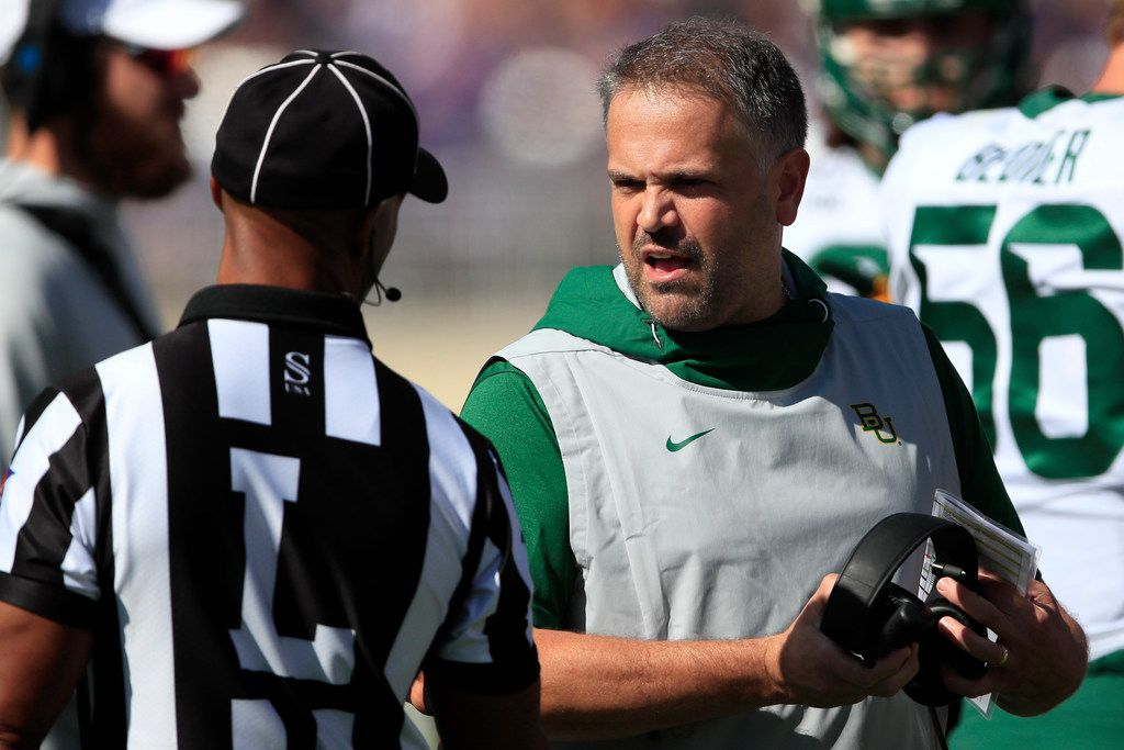 Matt Rhule Knew That Baylor Would Return To The National Spotlight This Time For All The Right Reasons