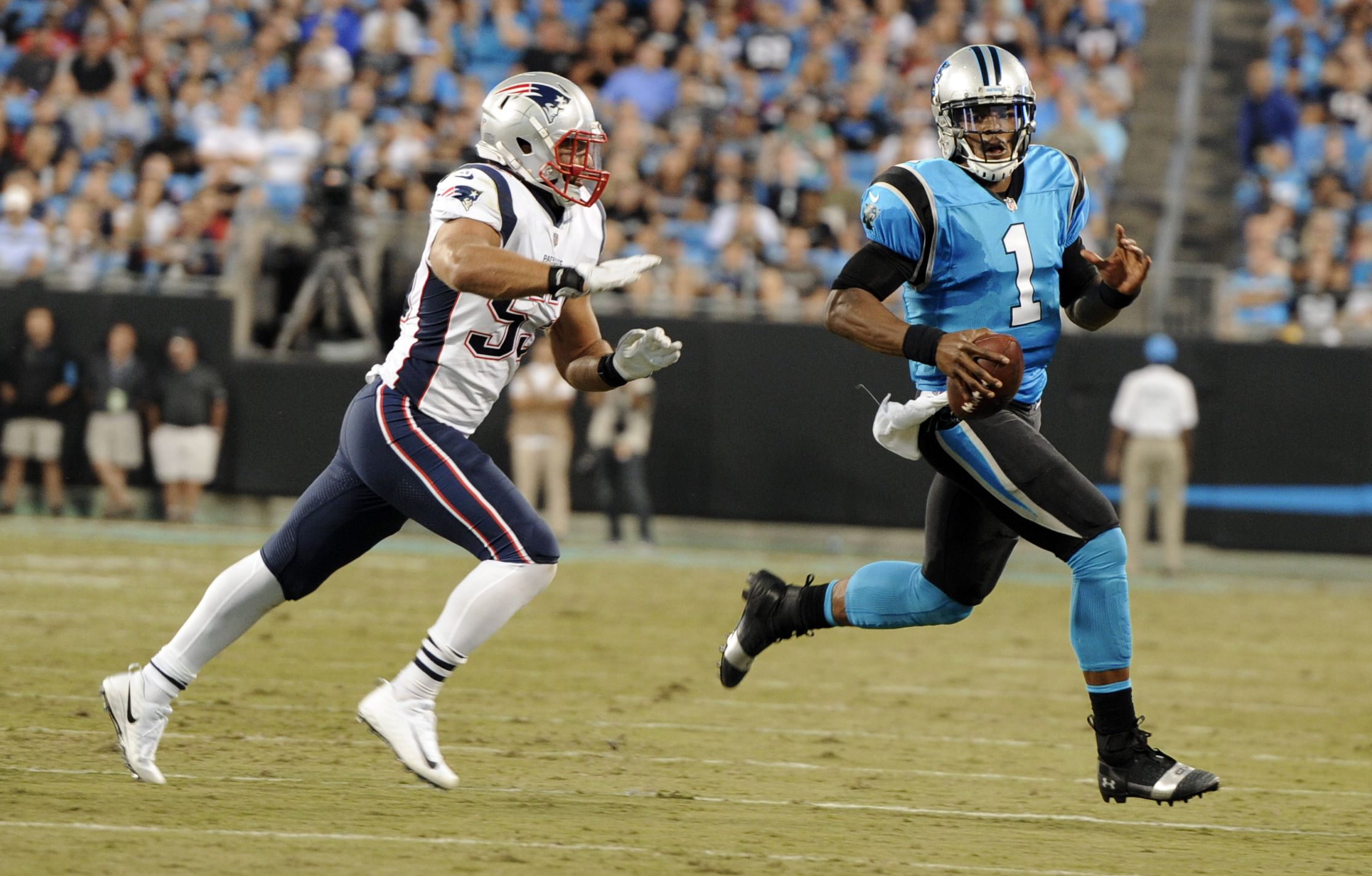 Kyle Van Noy On Cam Newton Ex Patriots Lb Says Dolphins Have Our Hands Full Sunday With Athletic Qb Masslive Com