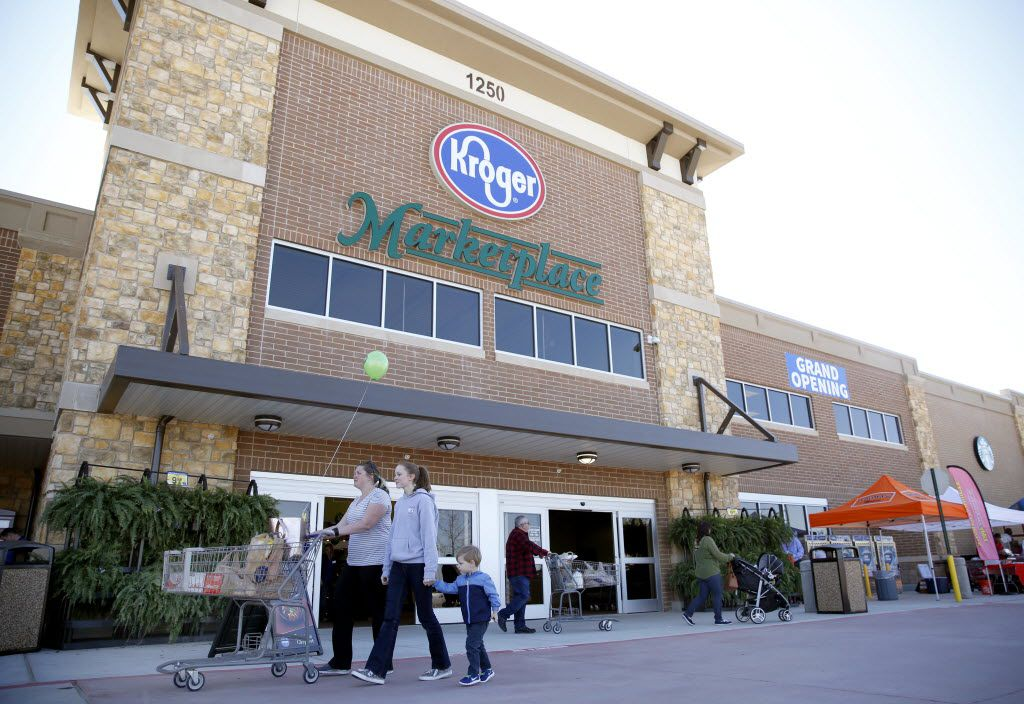 Keller warehouse that supplies D-FW Kroger stores hit with