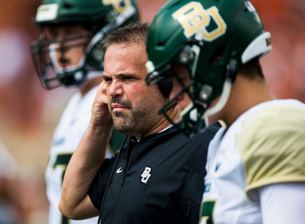 Baylor Ad Confirms Matt Rhule Will Remain The Bears Head Coach