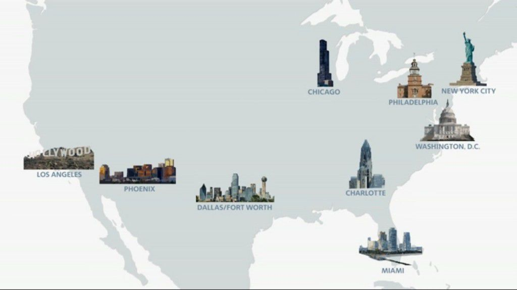 Hey, that Chicago landmark in the American Airlines-US Airways ad looks  familiar