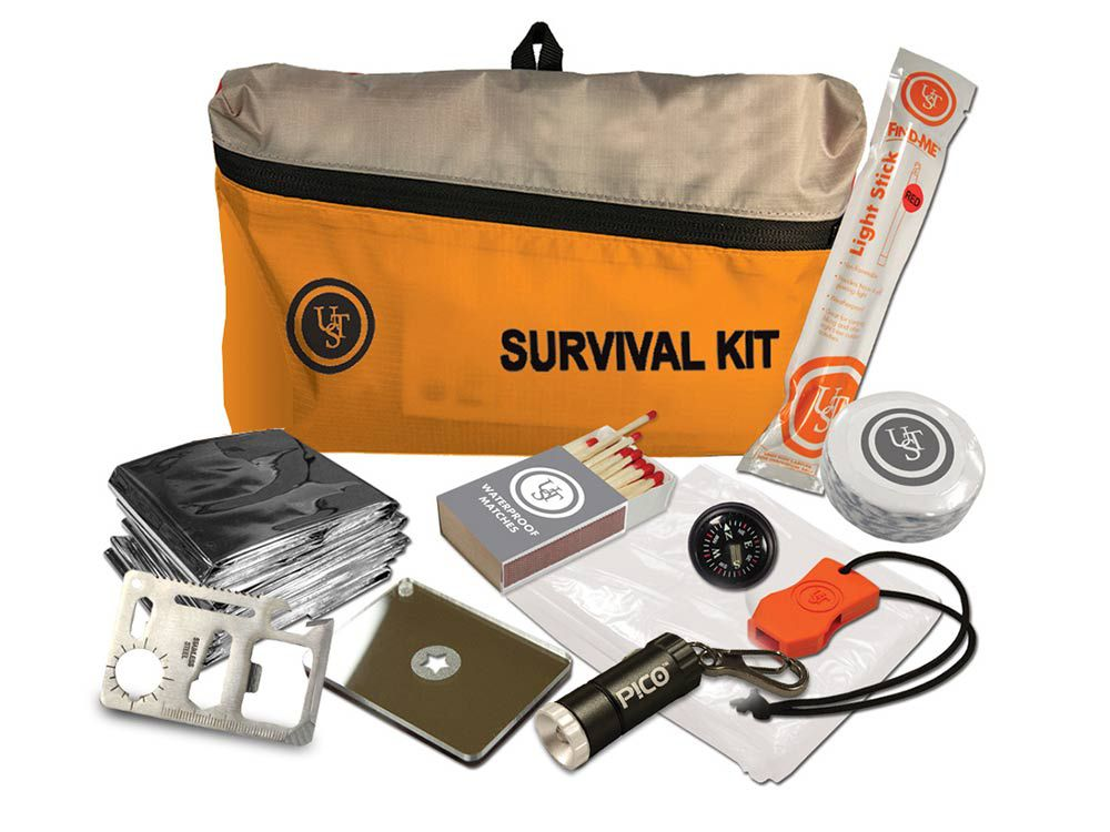Watertight firstaid kit 2.0 survival emergency prepper tactical disaster UST x2