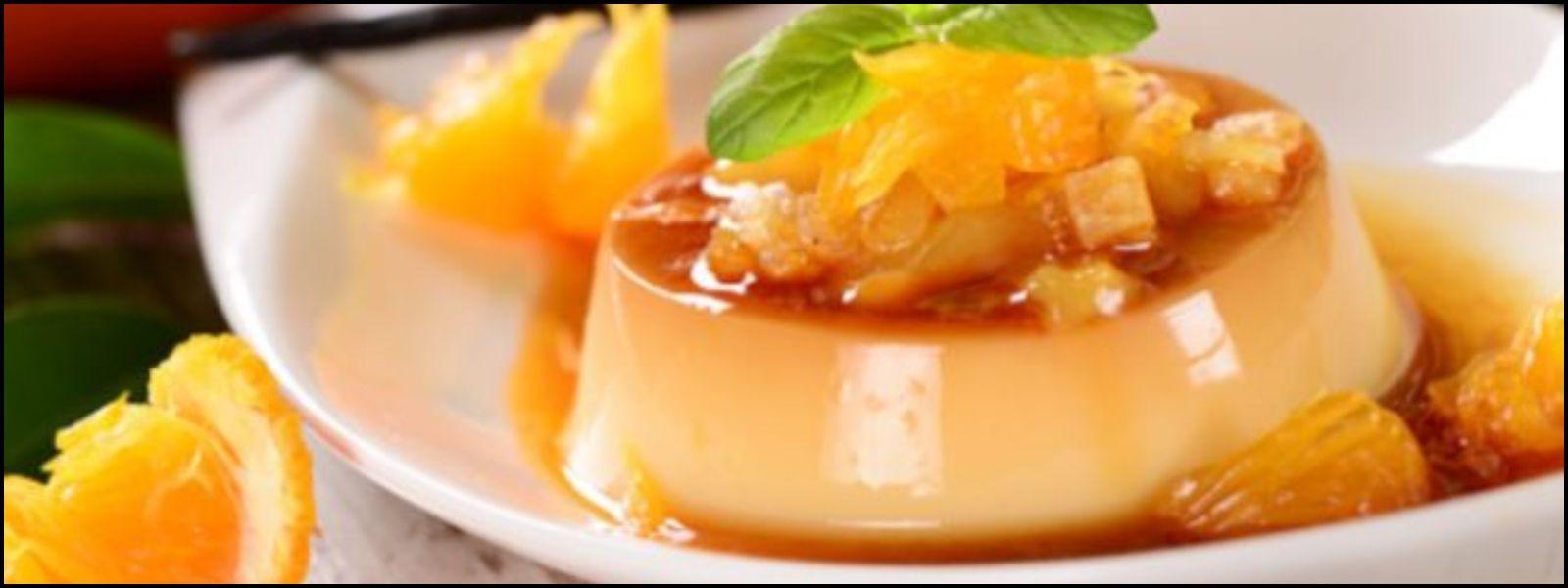 Flan De Naranja Una Receta Sin Horno Y Con Solo 3 Ingredientes La 100