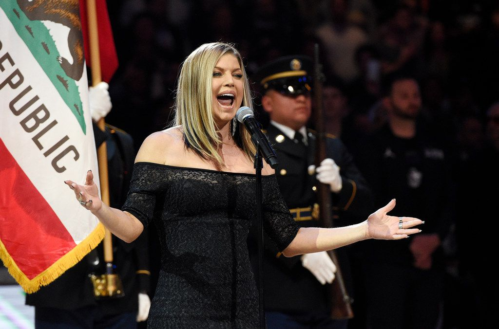 Where Does Fergie S Rendition Of The Star Spangled Banner Rank Against Other Celebrities Performances