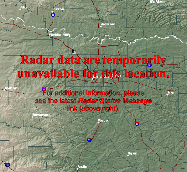 doppler radar dallas texas