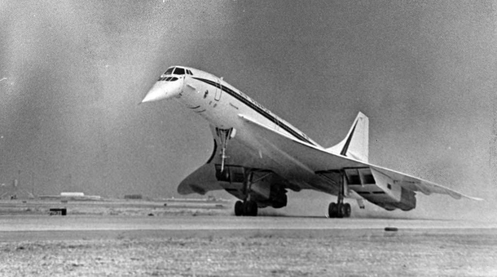 Was The First American Landing Of A Supersonic Concorde At