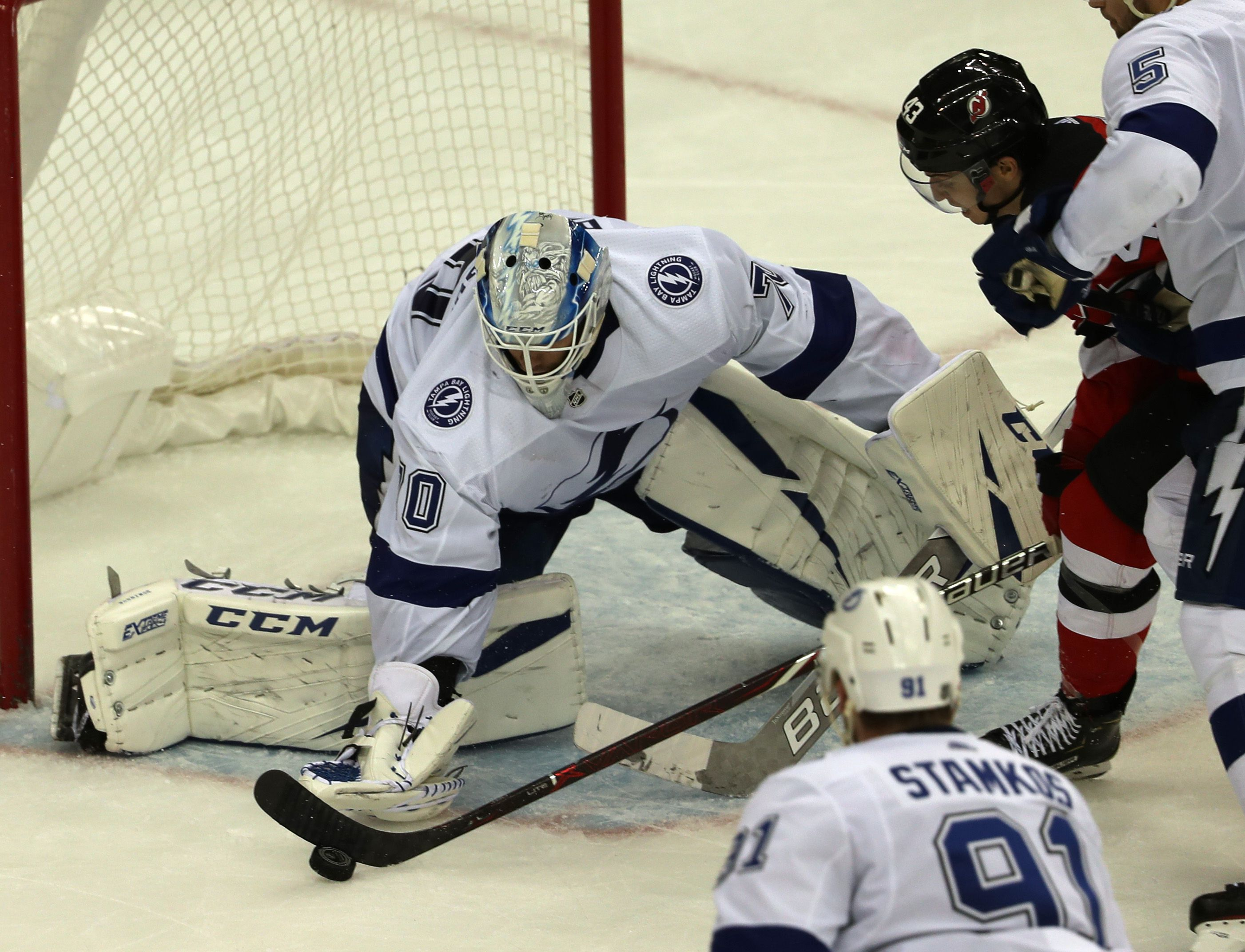Nhl Trade Rumors Devils Acquire Goalie Louis Domingue From Lightning What It Means Nj Com