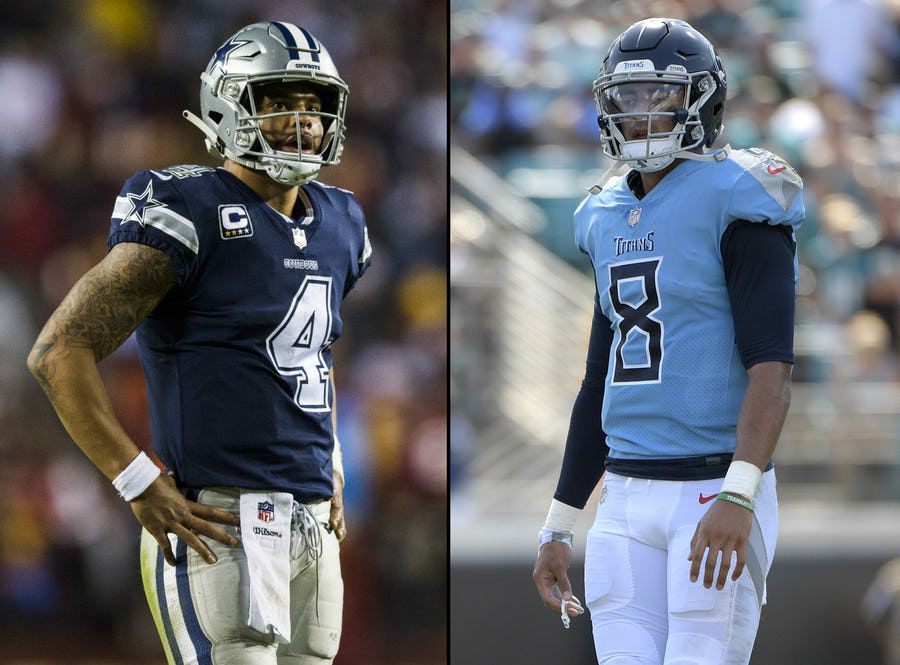 get cheap cd9df 52431 Cowboys-Titans preview, Jason Witten's return, and Dallas ...