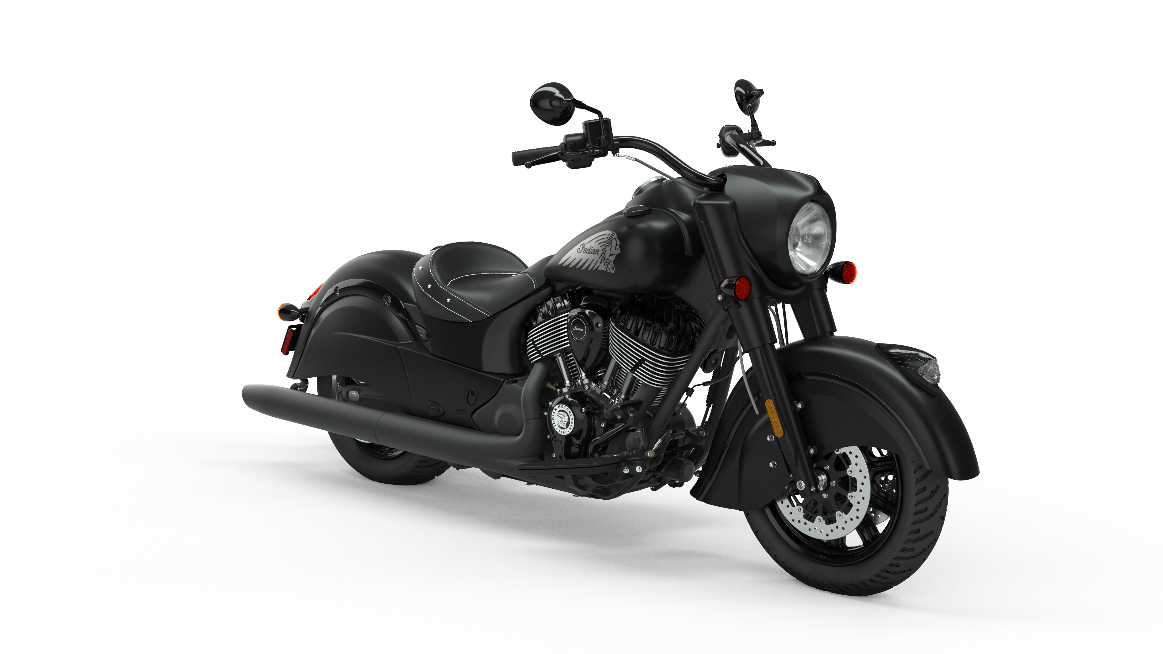 2020 Indian Chief Dark Horse Cycle World