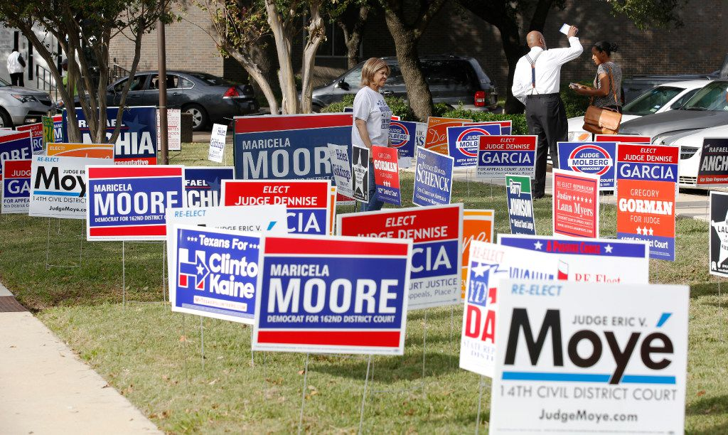 Women's vote could be split in Dallas County civil court