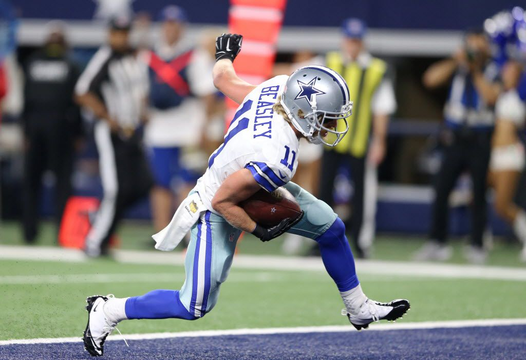 Why Cole Beasley Was Trying Not To Be Seen On Dez Bryant S