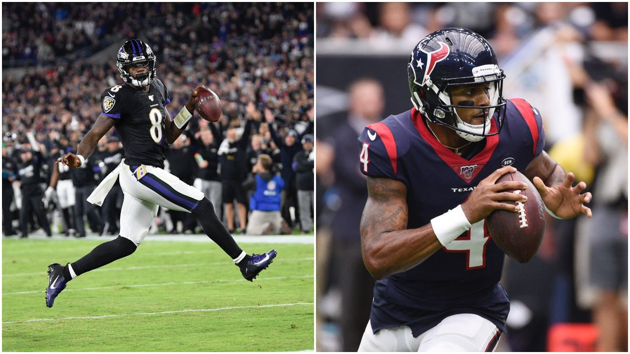 Baltimore Ravens Houston Texans Give Star Qbs Space To