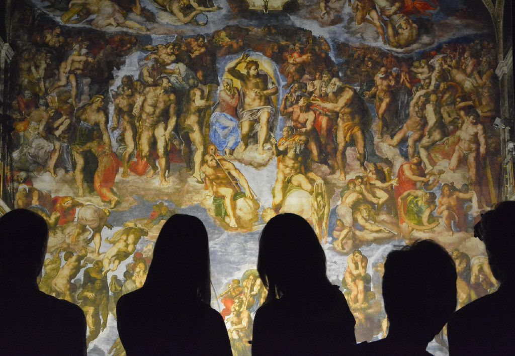 The Sistine Chapel Is Coming To Houston Here S One Art