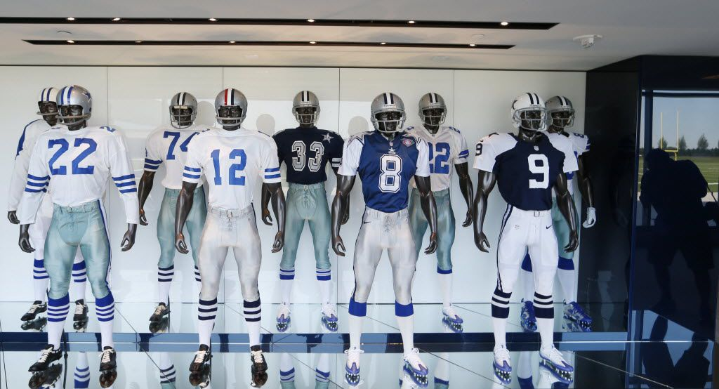 wholesale dealer 9f8be 9b345 Nope, Cowboys won't be wearing their navy blue uniforms at ...