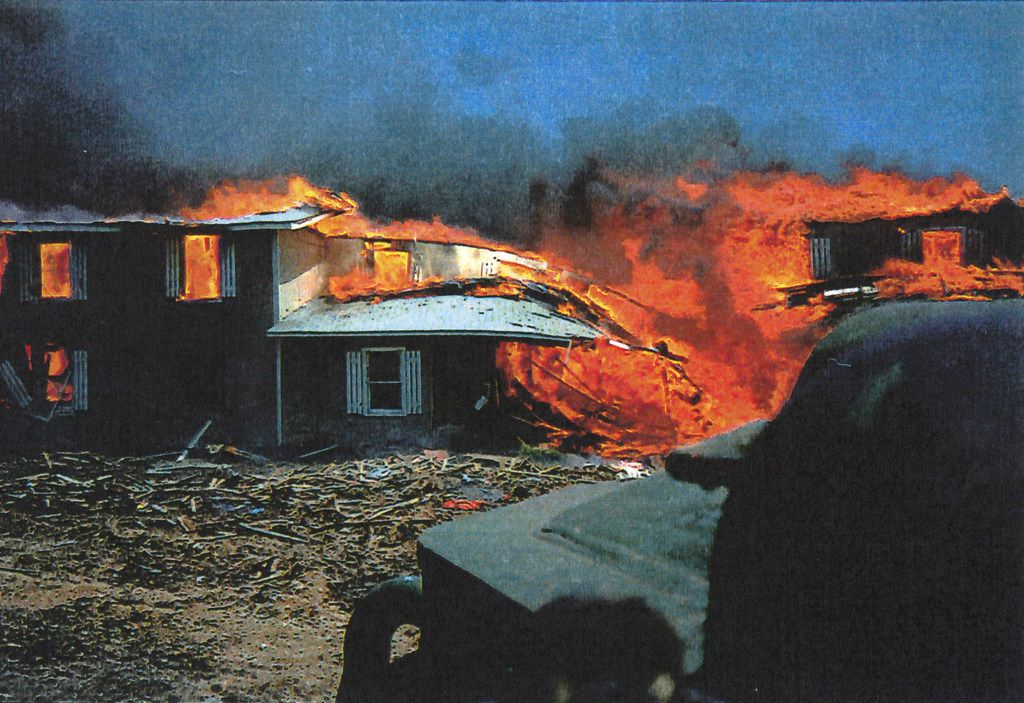 How the nch Davidians set the fires for a self-fulfilling ... Compound Vs Med Plan Houses on