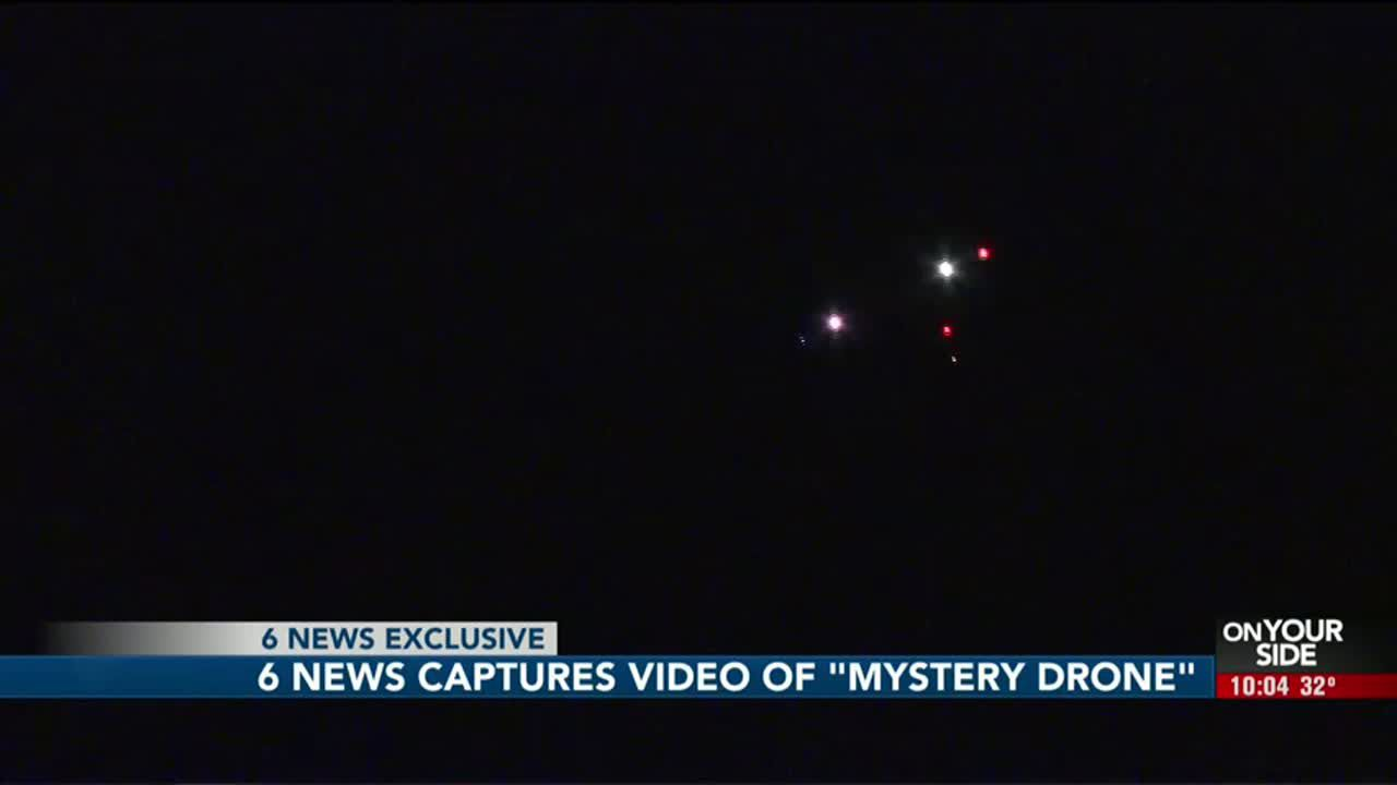 Caught On Camera Nighttime Drone Activity Recorded In Rural Saunders County