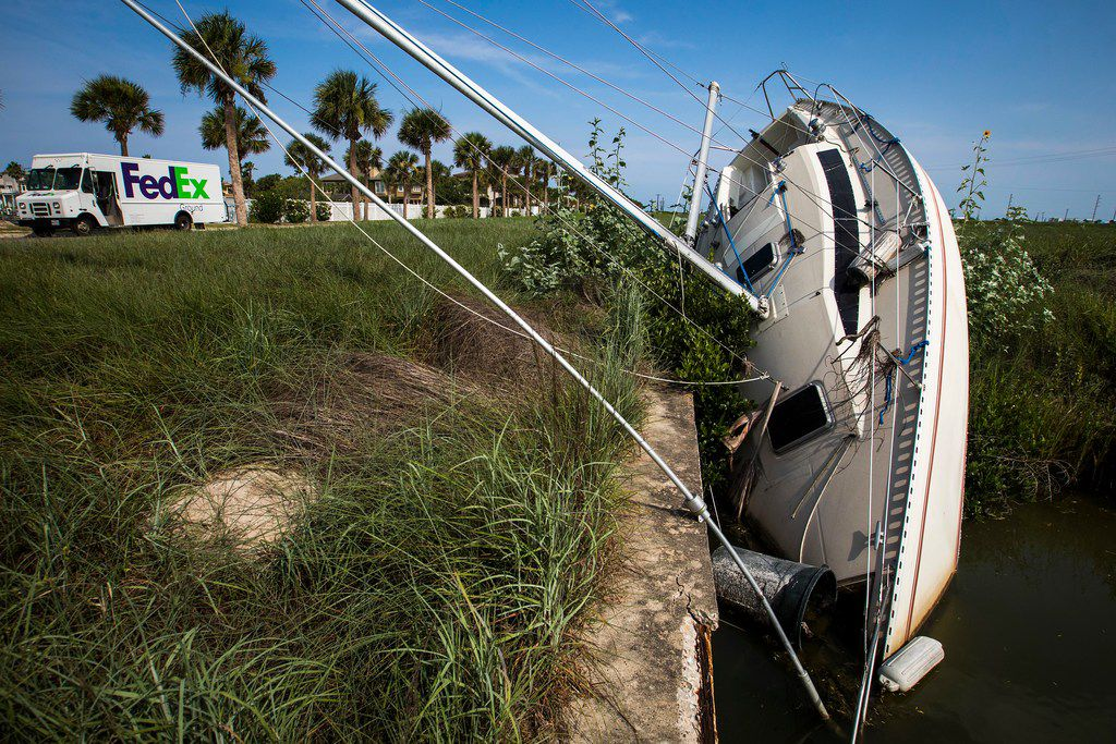 Fighting back from ruin: A year later, Port Aransas still