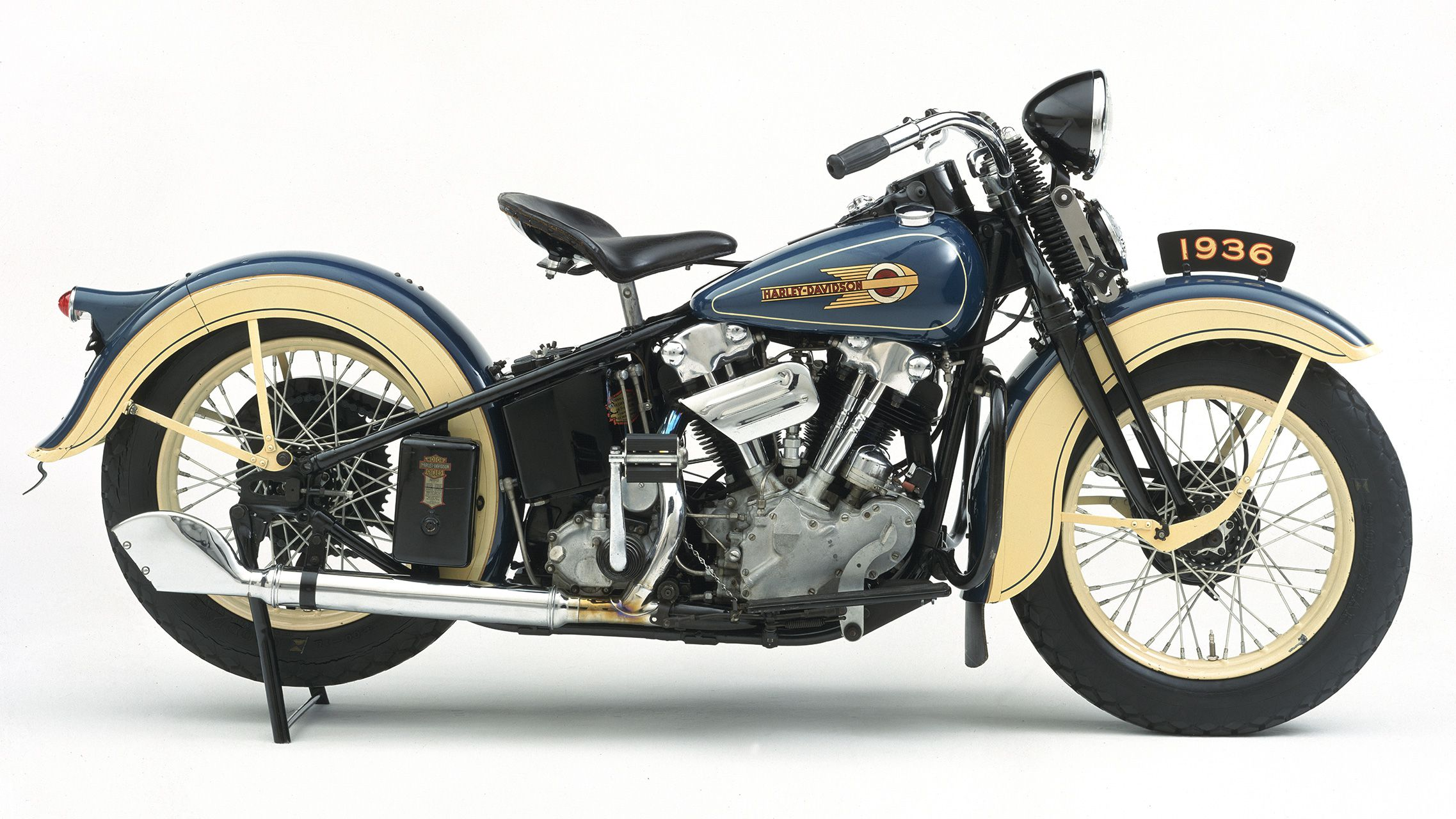 harley davidson knucklehead v twin motorcycles history of the big twin cycle world