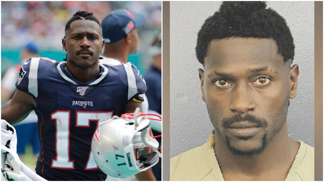 Former Nfl Star Antonio Brown Surrenders To Police To Face Multiple Charges Report Oregonlive Com