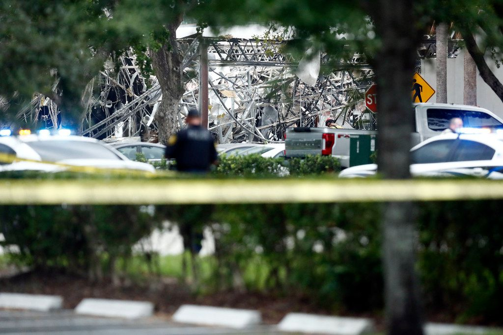 Gas Explosion Hurts 20 People At Florida Shopping Center