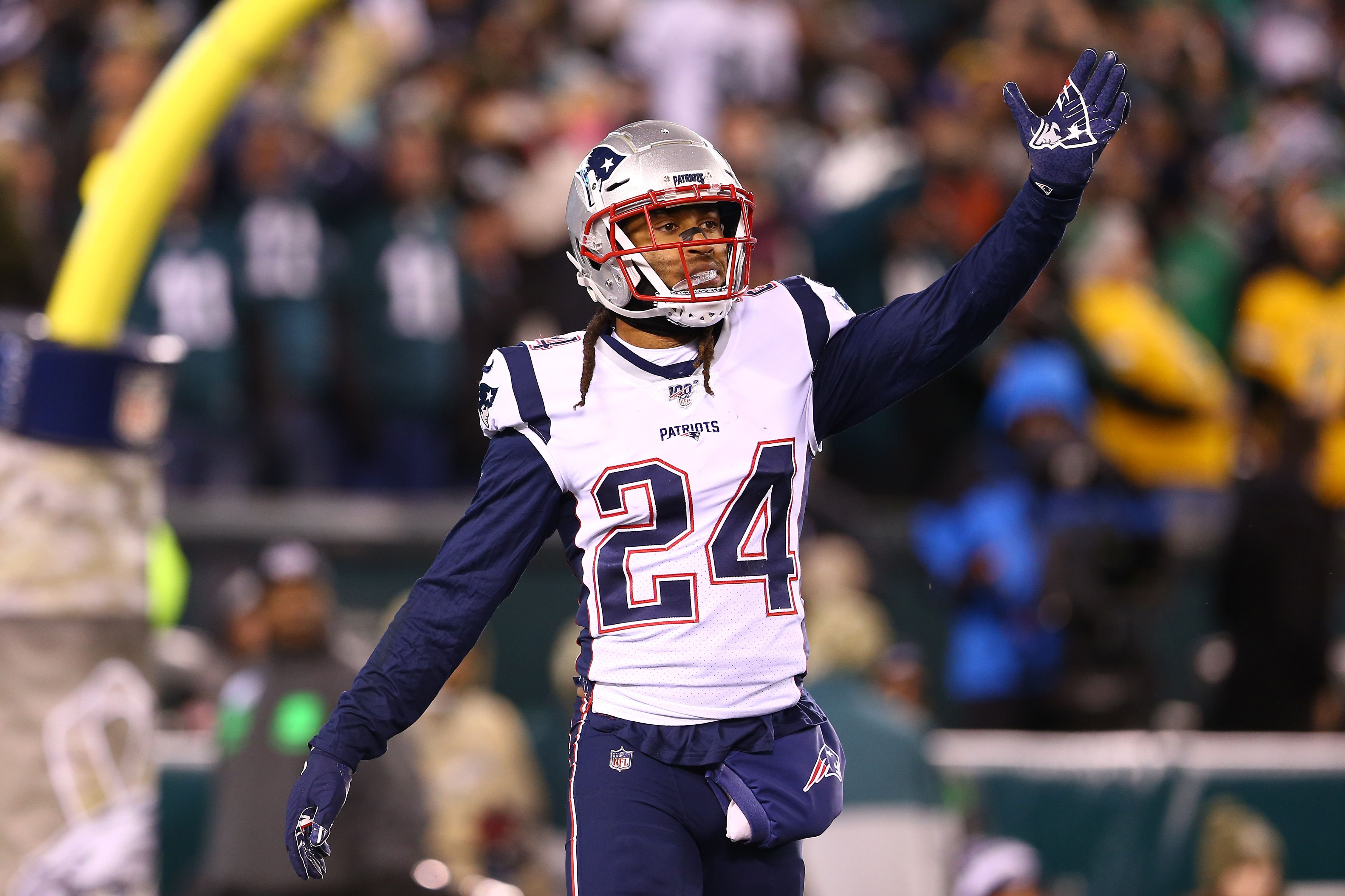 He was crying': Stephon Gilmore said he knew the Patriots would ...