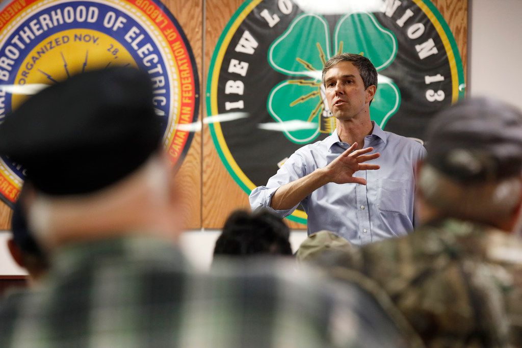 Beto O'Rourke was a member of the Cult of the Dead Cow