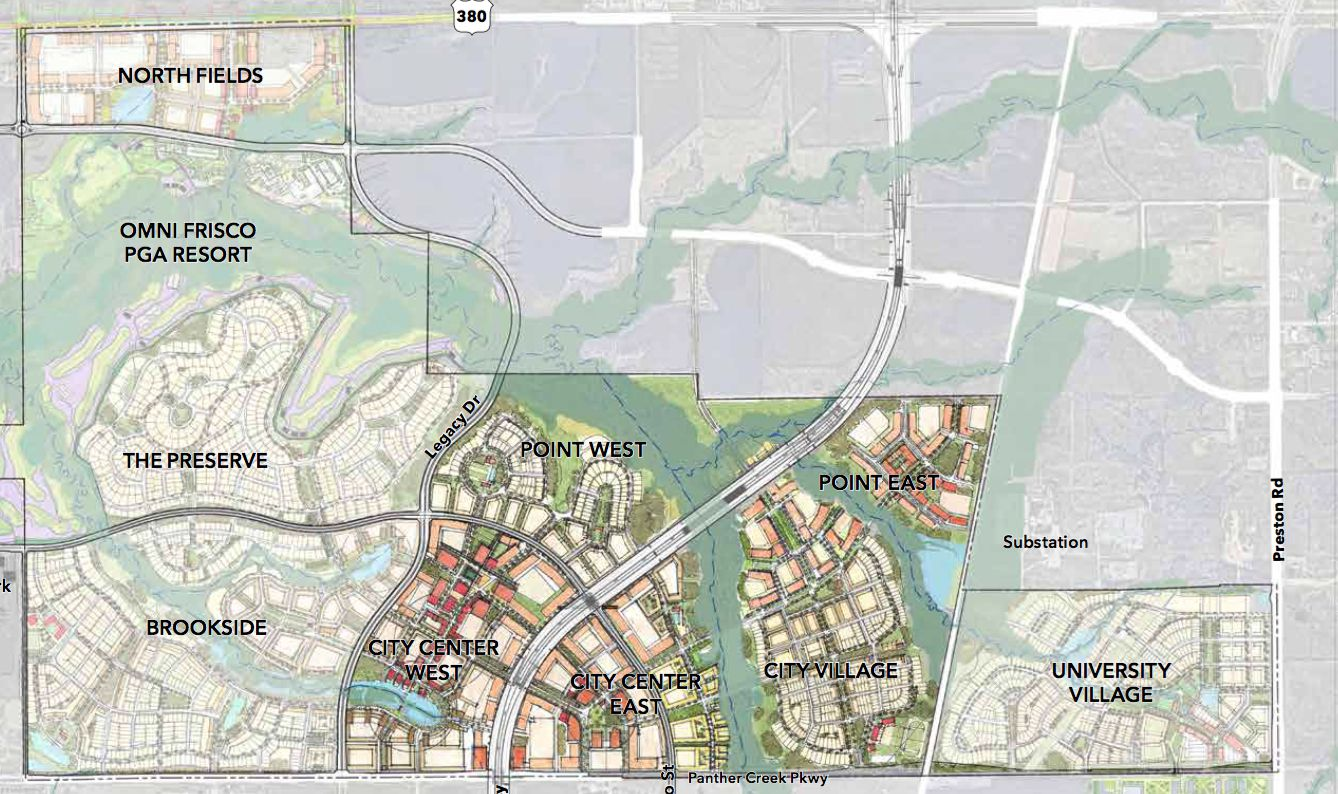 First look: Frisco's 2,500-acre Fields development will have ... on frisco mall map, city of frisco utilities, collin county zoning map, city of frisco certificate of occupancy, frisco isd zoning map, city of frisco recycling, city of frisco parks, frisco texas on texas map, cameron county zoning map,