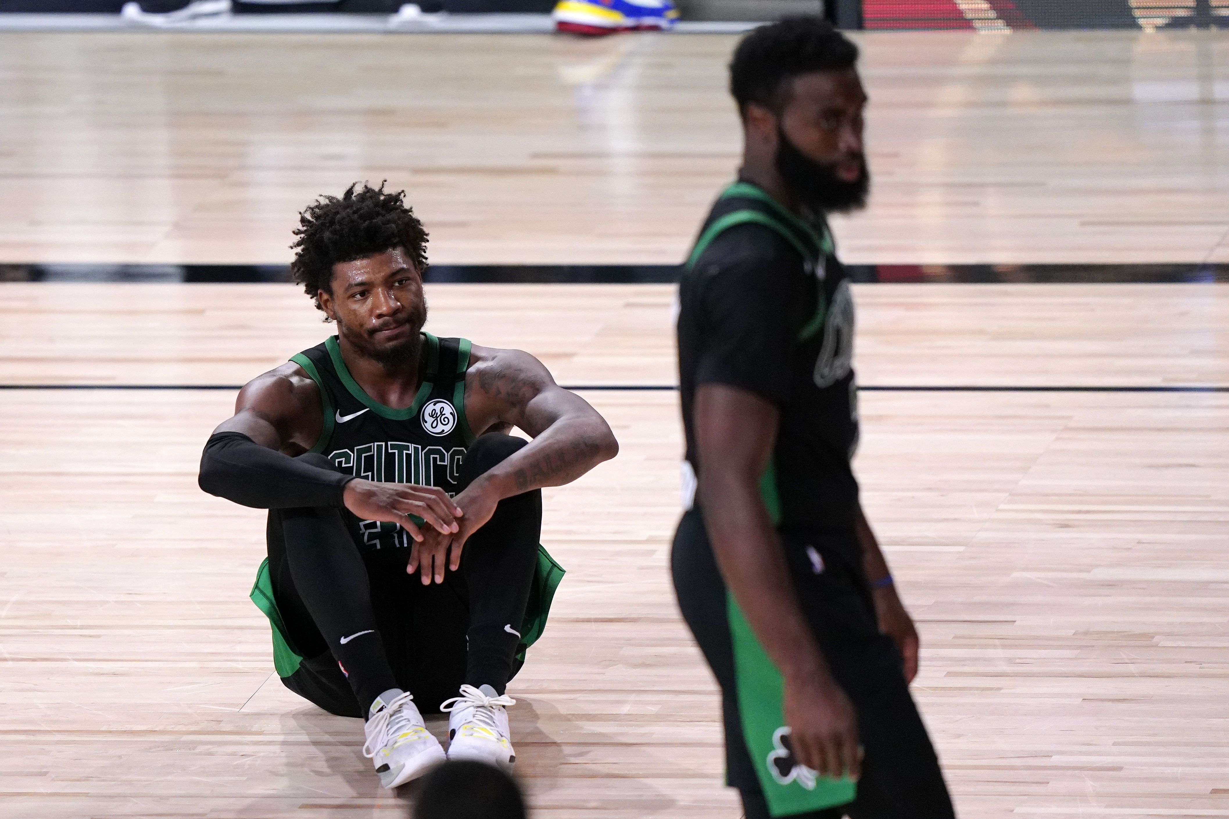 Celtics Lost Their Cool Following Loss To Heat Before Finally Talking It Out The Boston Globe