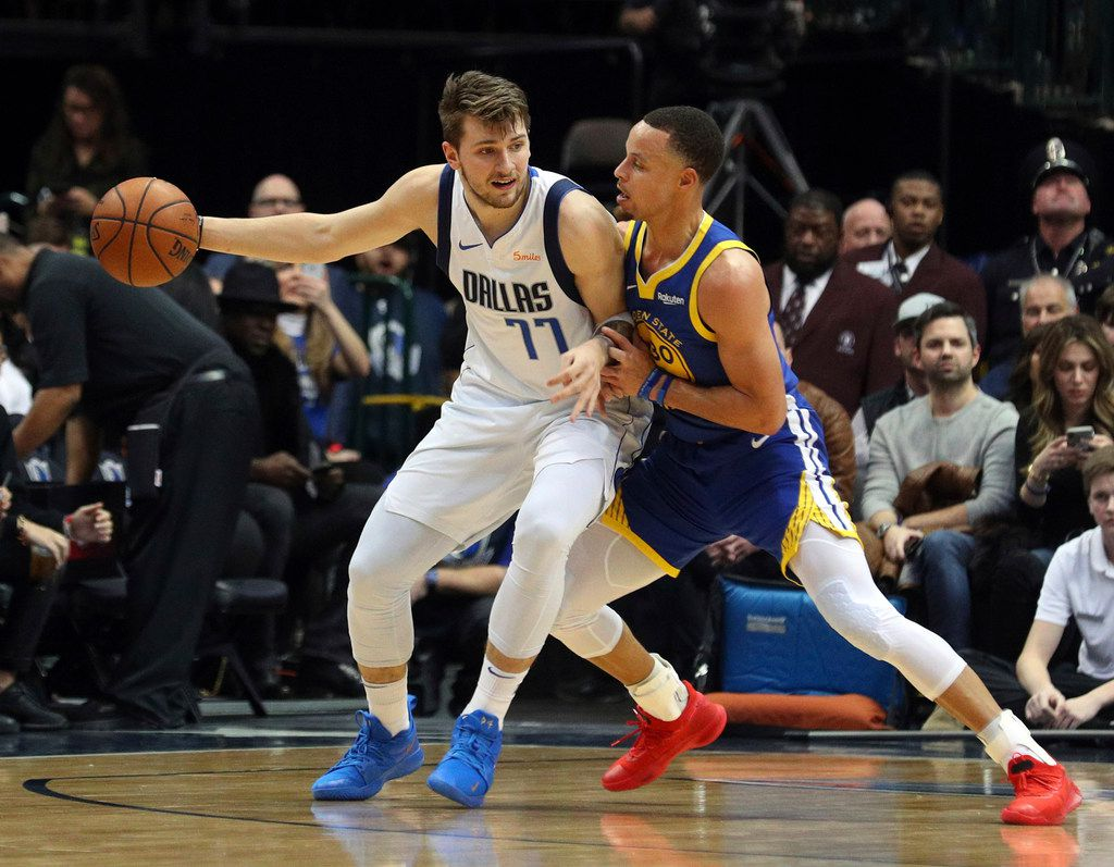 Mutual Respect Steph Curry Luka Doncic Trade Compliments