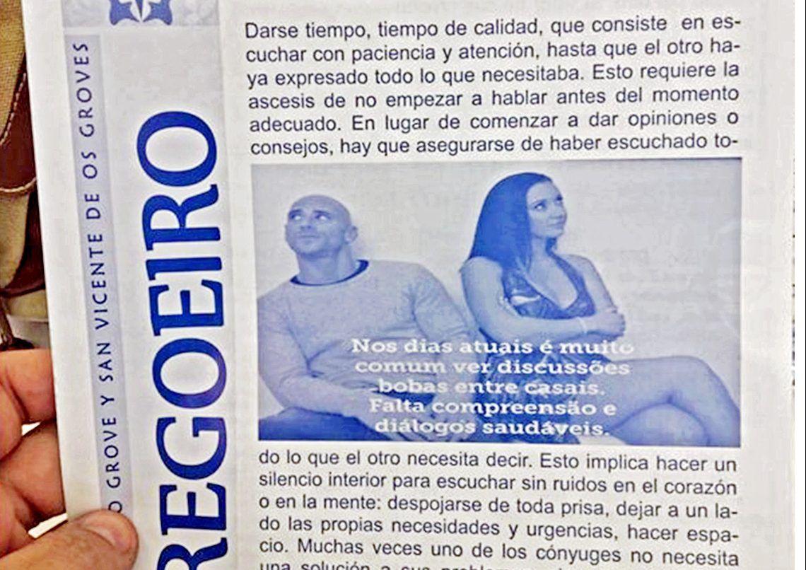 Ilustra Sacerdote Boletin De La Iglesia Con Porno