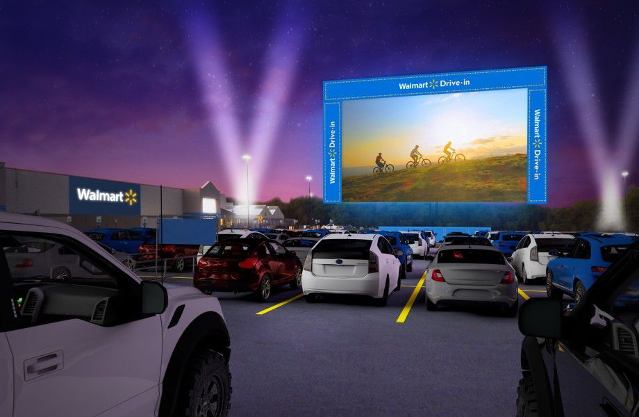 Walmart S Drive In Movie Showings At 14 North Texas Stores Max Out In Less Than 24 Hours
