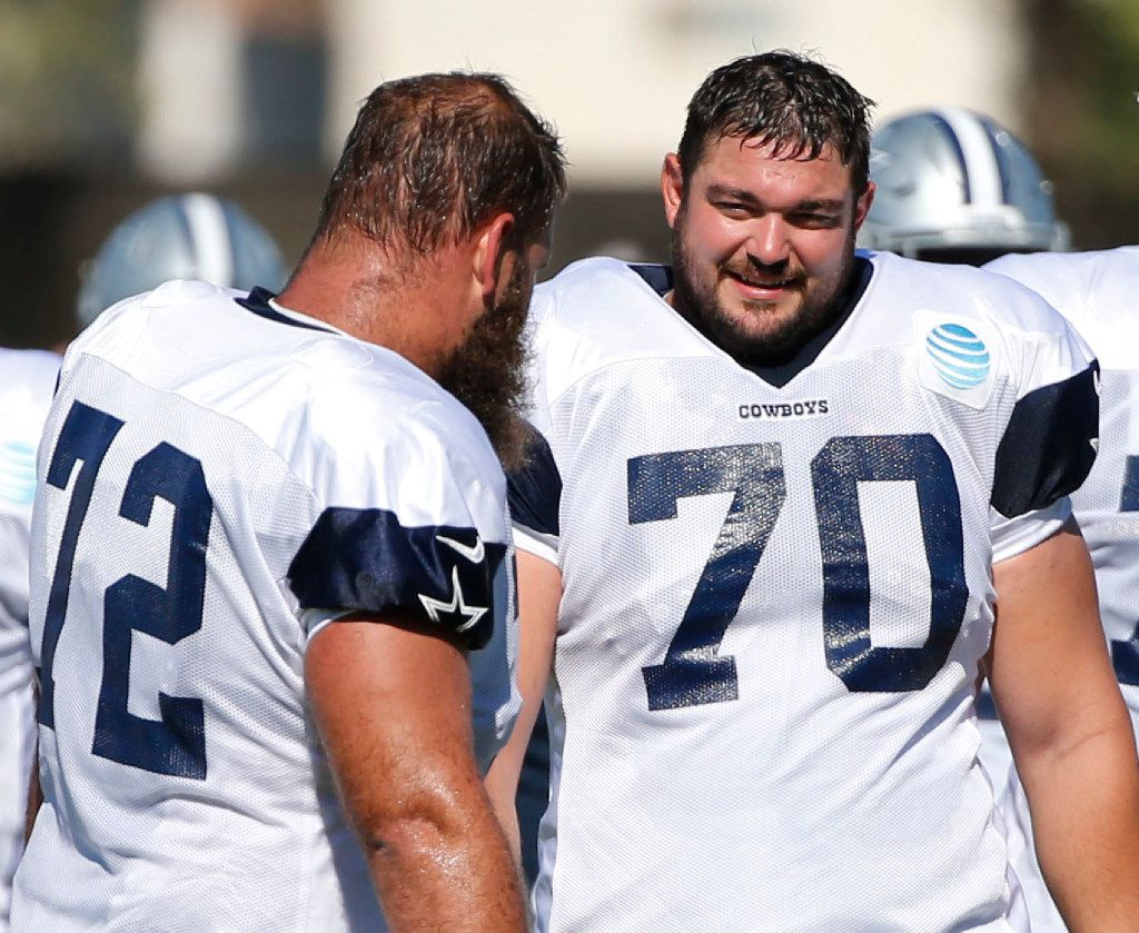 finest selection bb356 b3552 Move over Larry Allen? Zack Martin deserves to be in the ...