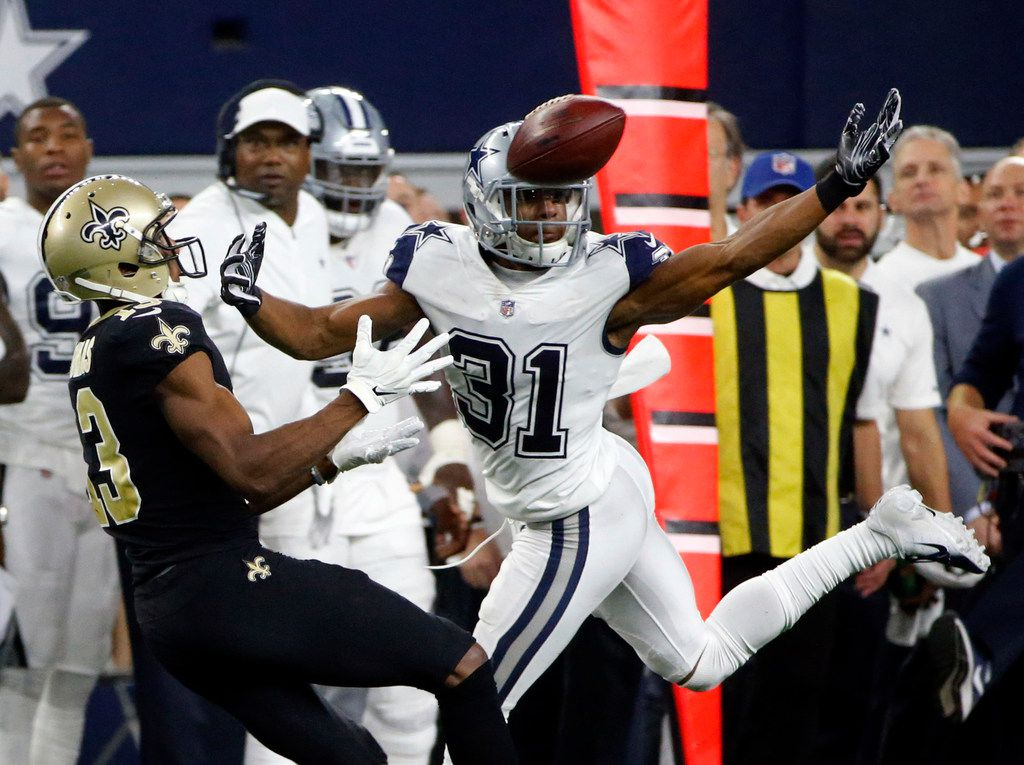 new arrivals 0f17e 13db0 Cowboys CB Byron Jones reacts to making first Pro Bowl ...