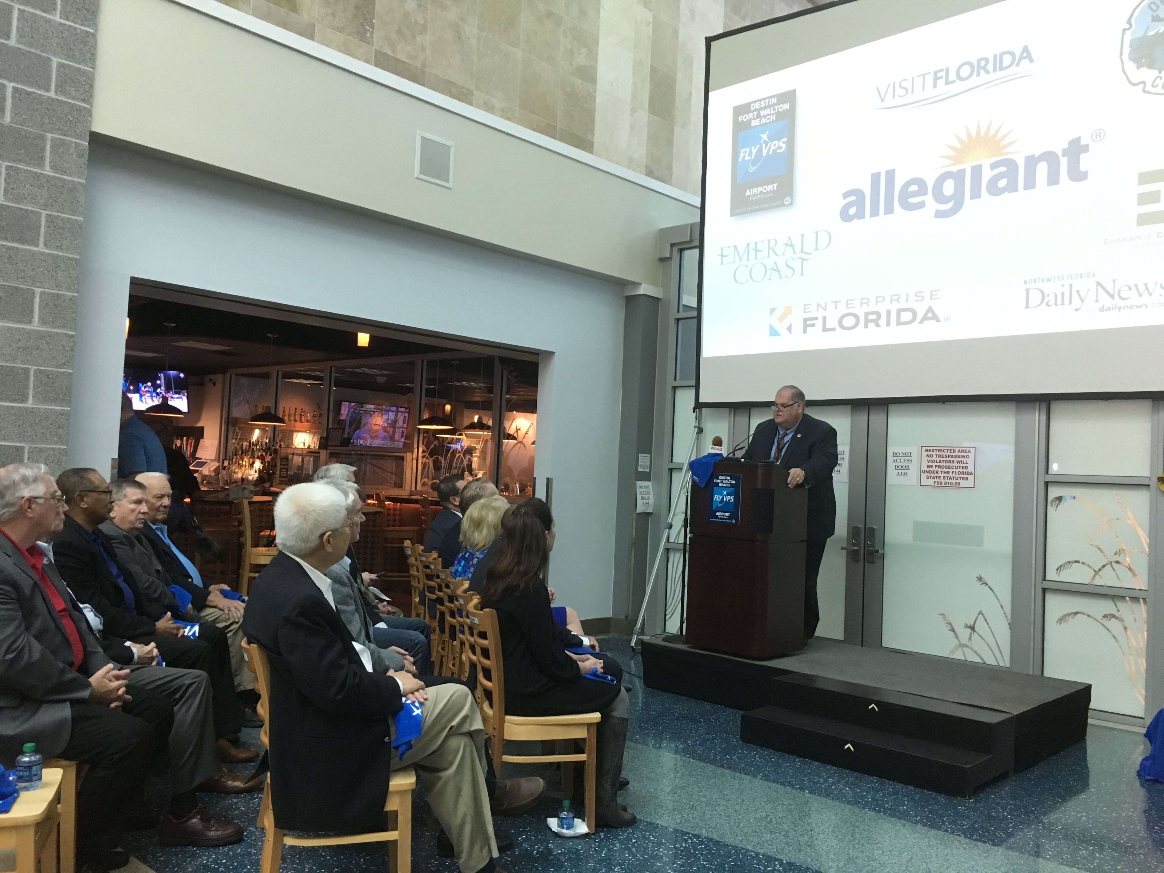 allegiant airways bringing new terminal to destin fort walton beach airport wjhg com