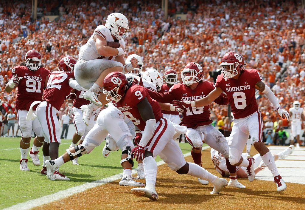 Big 12 Championship Game Is Set Oklahoma Texas To Meet In Title Game For First Time In Rivalry S History
