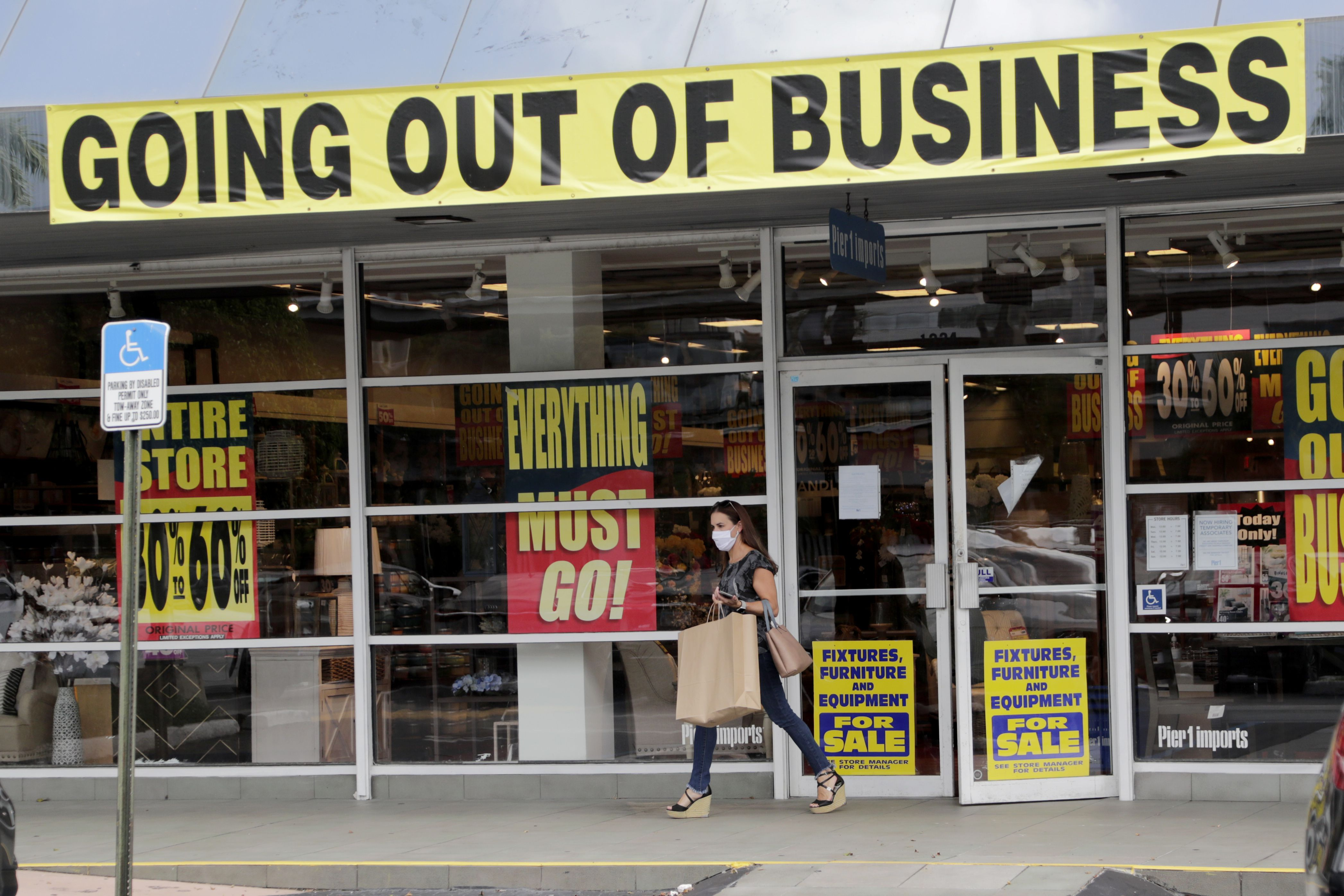 Bankrupt Retailers Are Challenged To Get Rid Of All That Inventory