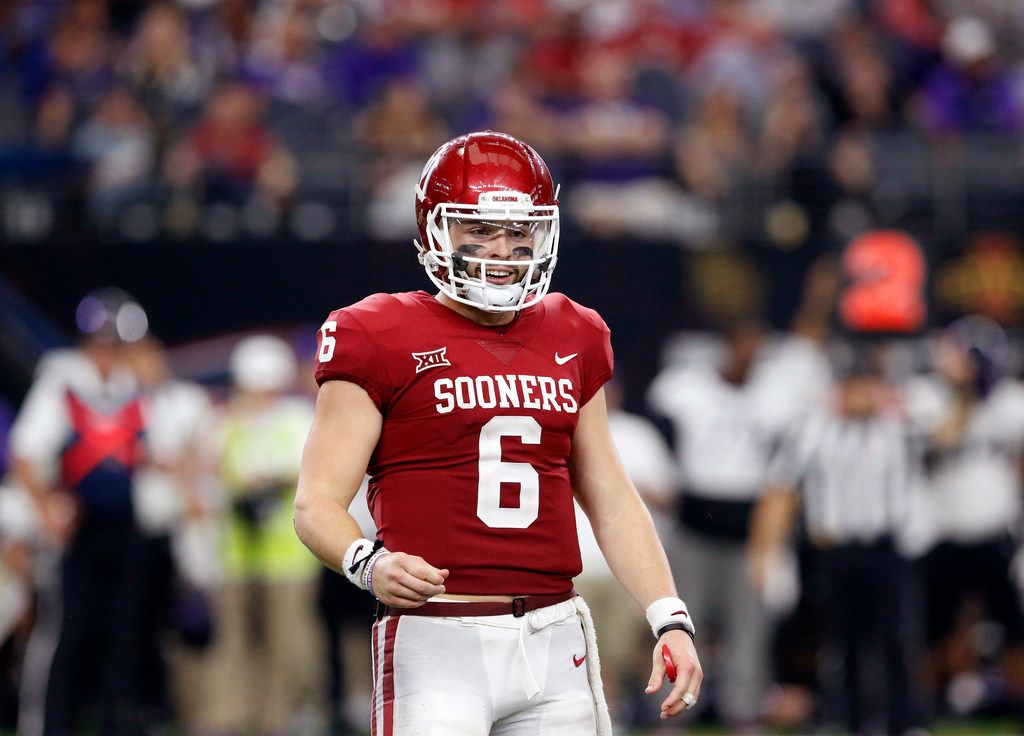 low priced 0a7a8 90e13 Can Baker Mayfield prove he's the next Brett Favre and not ...