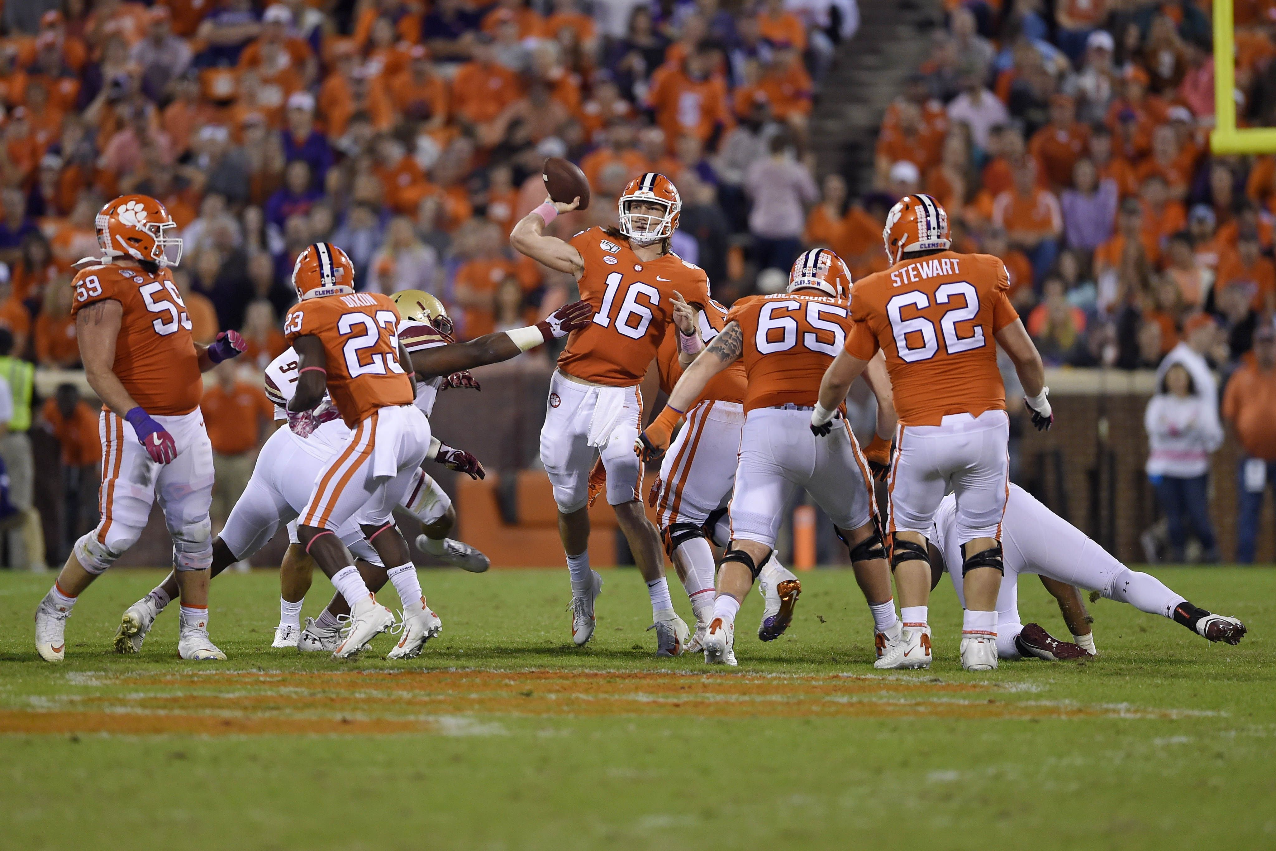 Wofford Vs Clemson Live Stream 11 2 19 How To Watch Acc