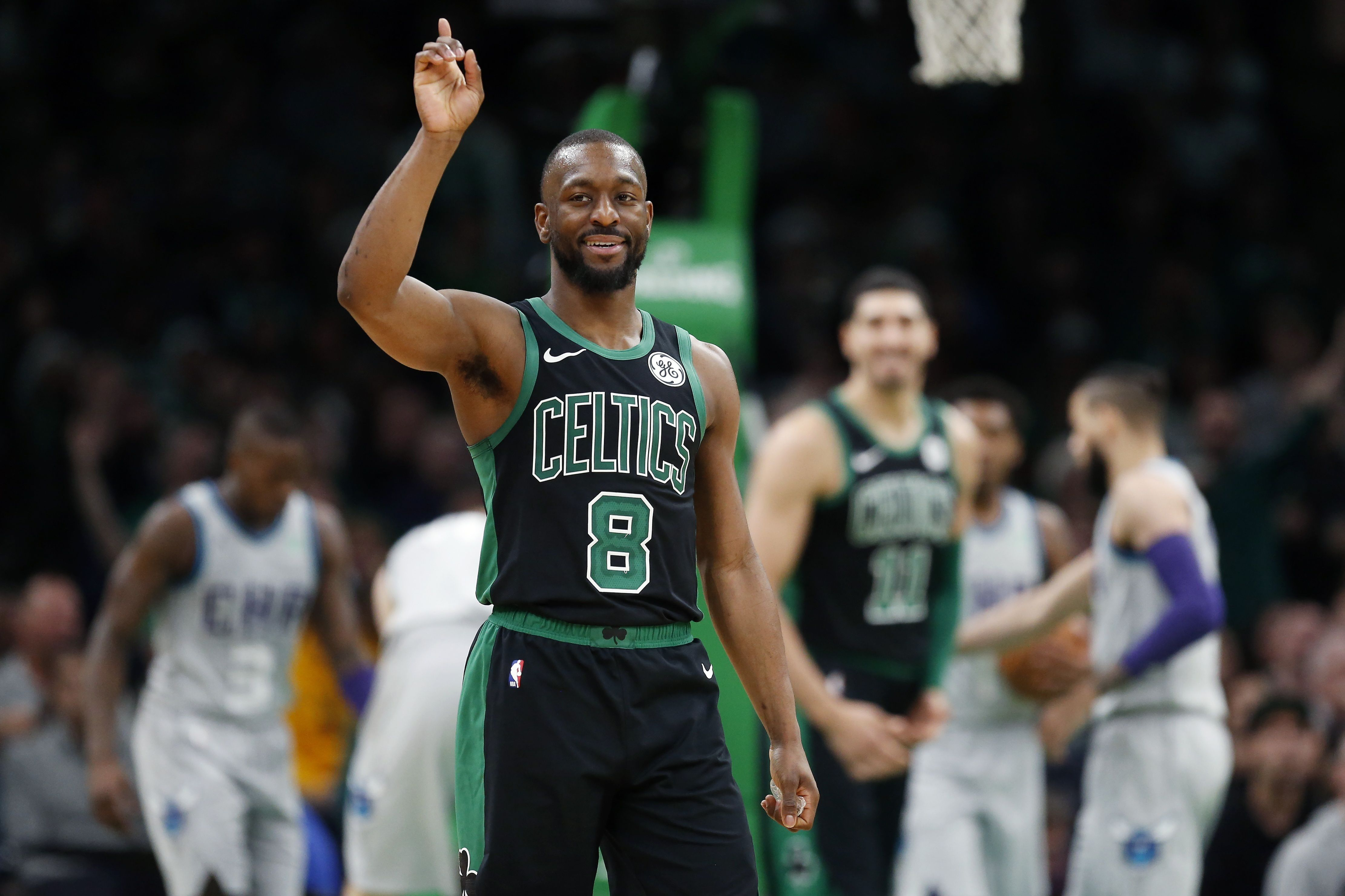 The Exact Thing Kemba Walker Wanted Literally Nothing Exciting Romeo Langford 10 Things We Learned From Boston Celtics Vs Charlotte Hornets Masslive Com
