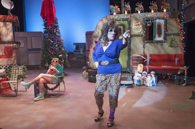 Trailer Park Christmas.American Trailer Park Christmas Musical Is As Funny As It
