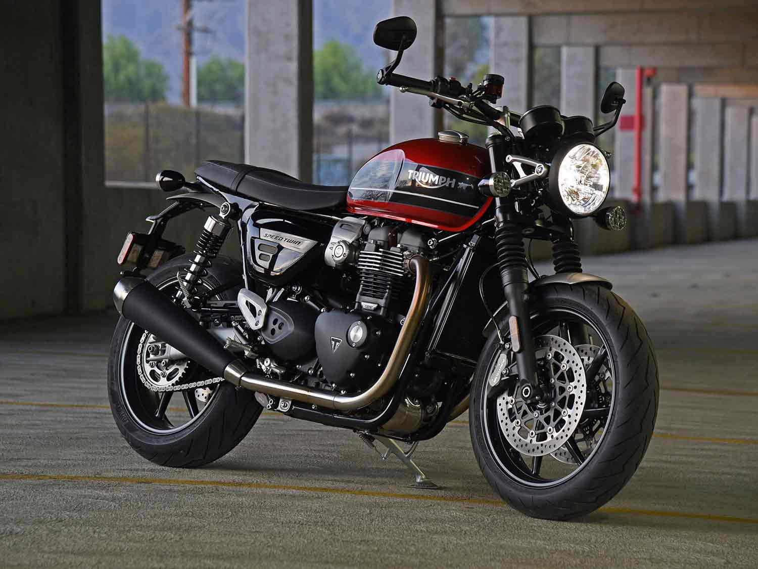 2020 Triumph Speed Twin Review Motorcyclist