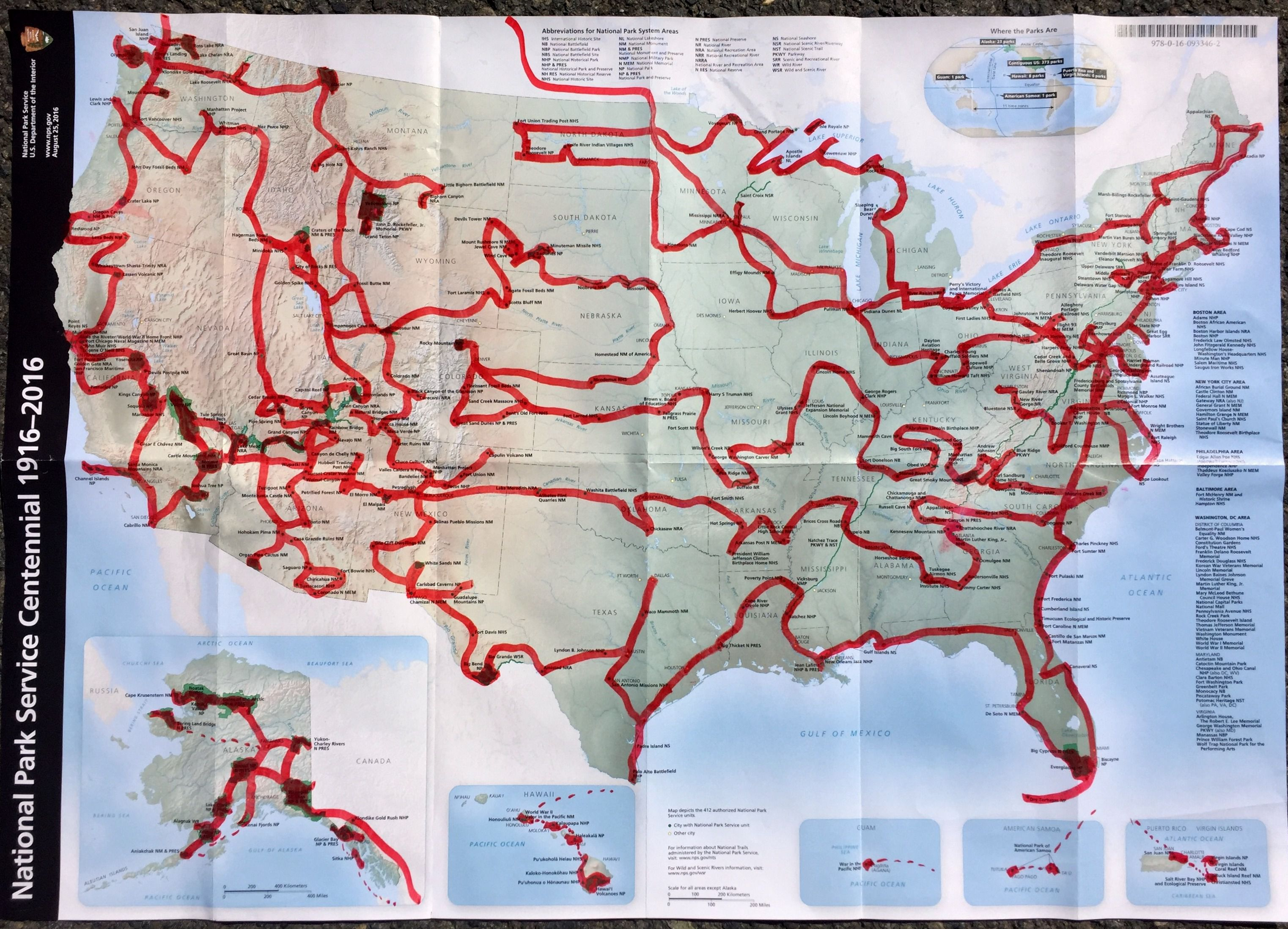 Man on quest to visit all 417 National Park sites wants to ...