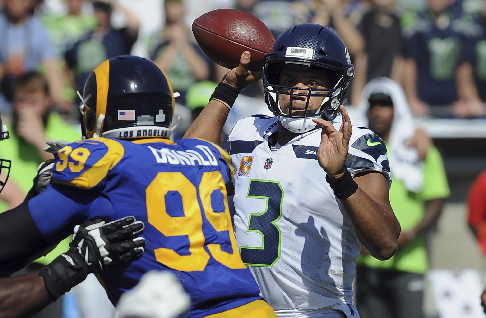 Seattle Seahawks Vs Los Angeles Rams Free Live Stream 11 15 20 How To Watch Nfl Games Time Channel Pennlive Com