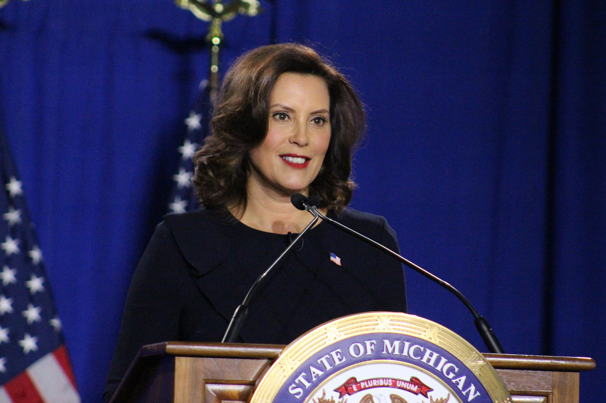 Michigan Gov Gretchen Whitmer Hits Back On Trump S Economic Message In State Of The Union Response Mlive Com