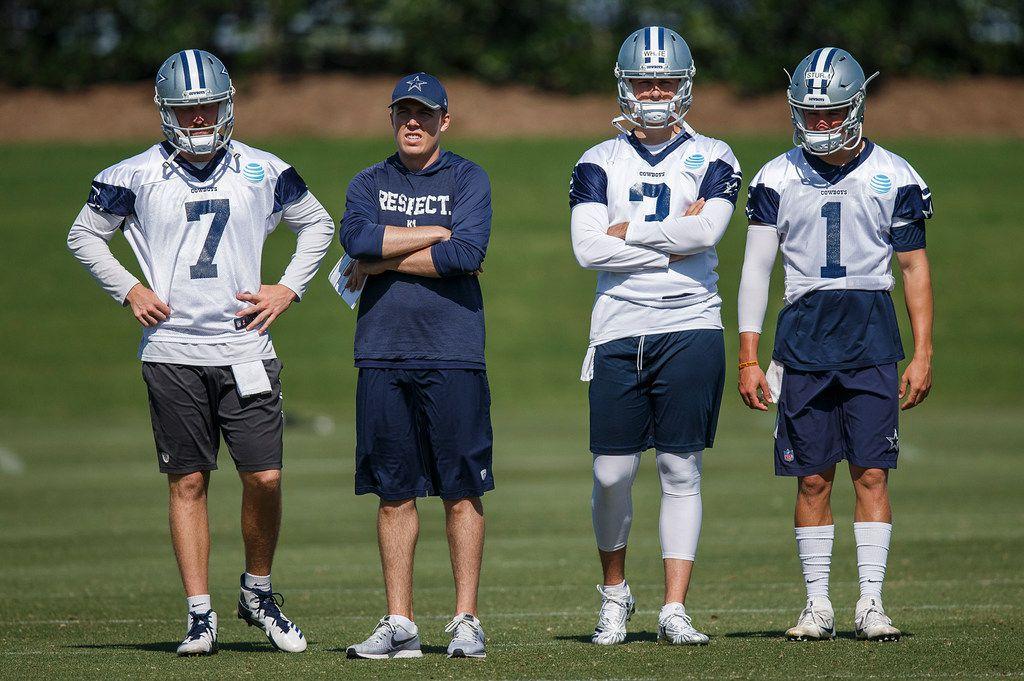 sports shoes dbebb 63ec2 Who has the advantage in the Cowboys' backup quarterback ...